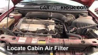 1995-2000 Ford Contour Cabin Air Filter Check