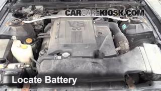 Battery Replacement: 2002-2006 Infiniti Q45