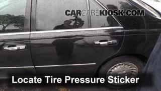 Properly Check Tire Pressure: Infiniti Q45 (2002-2006)
