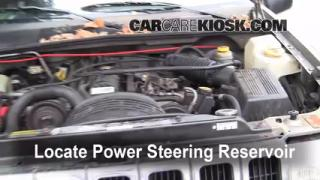 Follow These Steps to Add Power Steering Fluid to a Jeep Grand Cherokee (1993-1998)