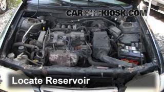 1998 Mazda 626 LX 2.0L 4 Cyl. Windshield Washer Fluid Check Fluid Level