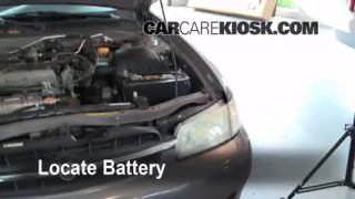 How to Clean Battery Corrosion: 1998-2001 Nissan Altima