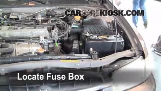 Blown Fuse Check 1998-2001 Nissan Altima