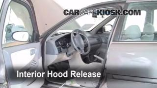 Open Hood How To 1998-2001 Nissan Altima