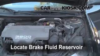 1998 Oldsmobile Intrigue GL 3.8L V6 Brake Fluid Check Fluid Level
