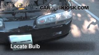 1998 Oldsmobile Intrigue GL 3.8L V6 Lights Daytime Running Light (replace bulb)