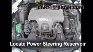 1998 Oldsmobile Intrigue GL 3.8L V6 Power Steering Fluid Fix Leaks