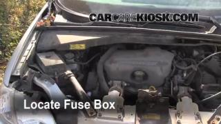 Blown Fuse Check 1997-2005 Pontiac Trans Sport