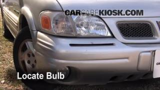Parking Light Change 1997-2005 Pontiac Montana