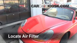 Cabin Filter Replacement: Porsche Boxster 1997-2004