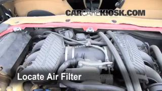 1998 Porsche Boxster 2.5L 6 Cyl. Air Filter (Engine) Check