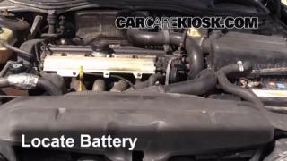 Battery Replacement: 1990-1992 Volvo 740