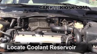 Coolant Level Check: 1990-1992 740