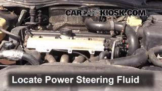 Follow These Steps to Add Power Steering Fluid to a Volvo 740 (1990-1992)