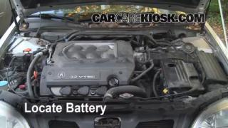 Battery Replacement: 1999-2003 Acura TL