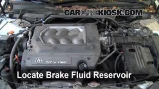 1999 Acura TL 3.2L V6 Brake Fluid Add Fluid