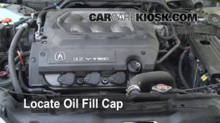 How to Add Oil Acura TL (1999-2003)