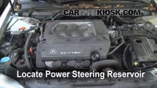 Follow These Steps to Add Power Steering Fluid to a Acura TL (1999-2003)