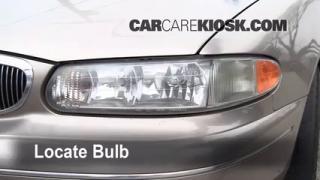 Highbeam (Brights) Change: 1997-2005 Buick Century