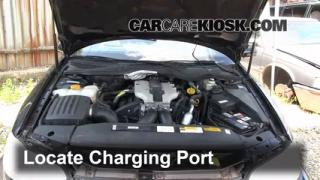 1999 Cadillac Catera 3.0L V6 Air Conditioner Recharge Freon