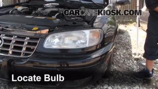 1999 Cadillac Catera 3.0L V6 Luces Luz de giro delantera (reemplazar foco)