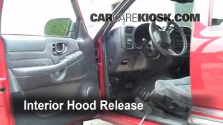 Open Hood How To 1998-2001 Oldsmobile Bravada