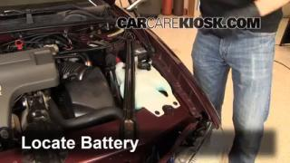 How to Clean Battery Corrosion: 1995-1999 Chevrolet Monte Carlo