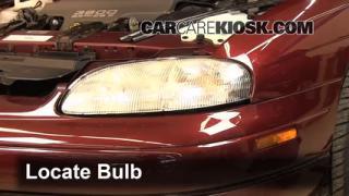 Headlight Change 1995-1999 Chevrolet Monte Carlo