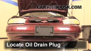 Oil & Filter Change Chevrolet Monte Carlo (1995-1999)