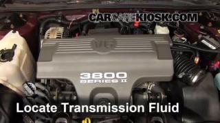1999 Chevrolet Monte Carlo Z34 3.8L V6 Transmission Fluid Fix Leaks
