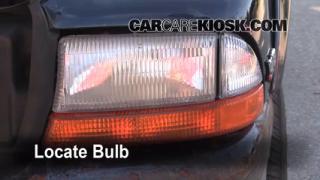 1999 Dodge Durango SLT 5.9L V8 Lights Turn Signal - Front (replace bulb)