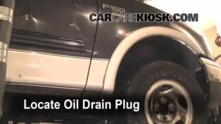 1999 Ford F-150 XLT 4.6L V8 Extended Cab Pickup (4 Door) Oil Change Oil and Oil Filter