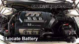 Battery Replacement: 1998-2002 Honda Accord