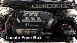Blown Fuse Check 1998-2002 Honda Accord