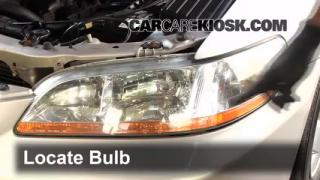 1999 Honda Accord LX 3.0L V6 Sedan (4 Door) Lights Parking Light (replace bulb)