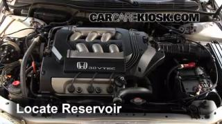 1999 Honda Accord LX 3.0L V6 Sedan (4 Door) Windshield Washer Fluid Add Fluid