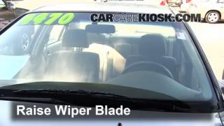 1999 Honda Accord LX 3.0L V6 Sedan (4 Door) Windshield Wiper Blade (Front) Replace Wiper Blades