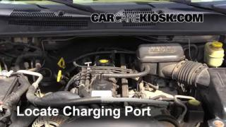 1999 Jeep Grand Cherokee Limited 4.0L 6 Cyl. Air Conditioner Recharge Freon