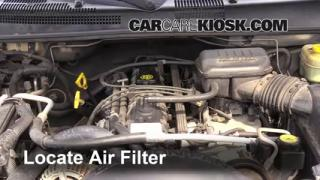 1999 Jeep Grand Cherokee Limited 4.0L 6 Cyl. Air Filter (Engine) Replace