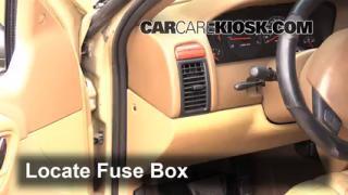 interior fuse box location 1999 2004 jeep grand cherokee 1999 2002 Jeep Grand Cherokee Laredo Fuse Box 1999 jeep grand cherokee laredo fuse box