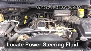 1999 Jeep Grand Cherokee Limited 4.0L 6 Cyl. Fluid Leaks Power Steering Fluid (fix leaks)