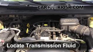 1999 Jeep Grand Cherokee Limited 4.0L 6 Cyl. Transmission Fluid Add Fluid