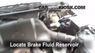 Add Brake Fluid: 1992-2011 Mercury Grand Marquis