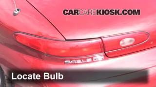 Brake Light Change 1996-1999 Ford Taurus