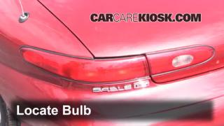 Reverse Light Replacement 1996-1999 Ford Taurus