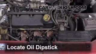 Check Oil Level 1996-1999 Ford Taurus