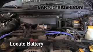 1999 Subaru Impreza Outback 2.2L 4 Cyl. Battery Clean Battery & Terminals