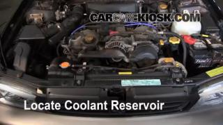 1999 Subaru Impreza Outback 2.2L 4 Cyl. Coolant (Antifreeze) Add Coolant