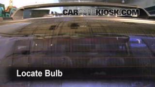 Third Brake Light Bulb Change Subaru Impreza (1993-2001)