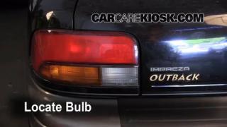 Rear Turn Signal Replacement Subaru Impreza (1993-2001)